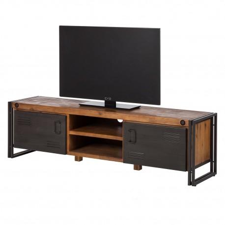 comoda tv manchester design brut stil industrial. Black Bedroom Furniture Sets. Home Design Ideas