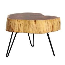Masa cafea LEWIS lemn masiv de salcam