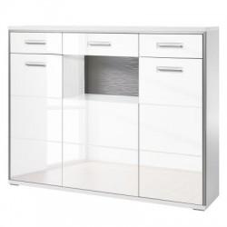Comoda vitrina KUSHI design modern, MDF
